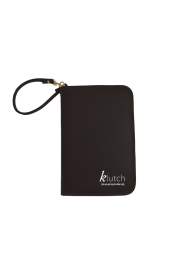 Klutch Travel Folder-Black
