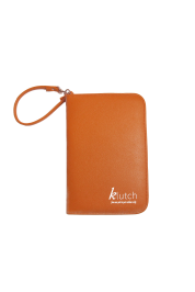 Klutch Travel Folder-Orange