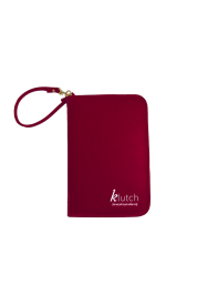 Klutch Travel Folder-Red