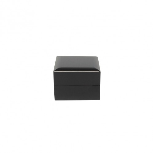 BLACK PIANO RING BOX