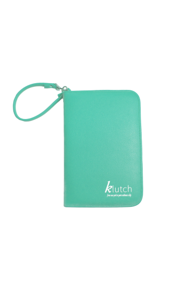 Klutch Travel Folder-Bright Blue