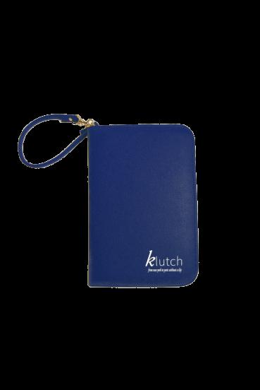Klutch Travel Folder-Blue
