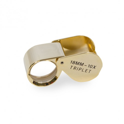 18MM GOLD LOUPE