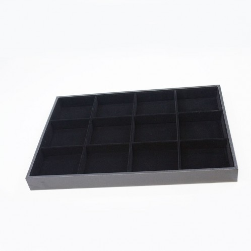 PU/ VELVET OPEN DISPLAY TRAY