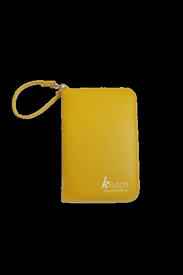 Klutch Travel Folder-Yellow