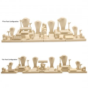 BEIGE 5-6 FOOT CASE COMBINATION SET