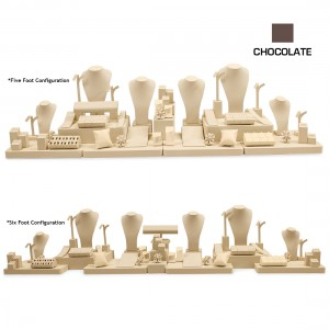 CHOCOLATE 5-6 FOOT CASE COMBINATION SET