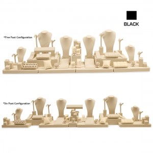 BLACK 5-6 FOOT CASE COMBINATION SET