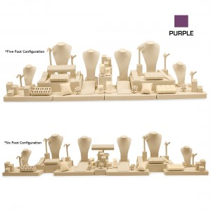 PURPLE 5-6 FOOT CASE COMBINATION SET