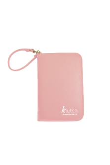 Klutch Travel Folder-Lt Pink