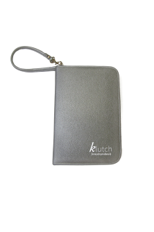 Klutch Travel Folder-Silver
