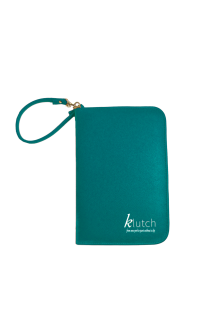 Klutch Travel Folder-Teal Green