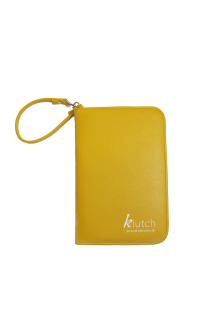 Klutch Travel Folder-Yellow