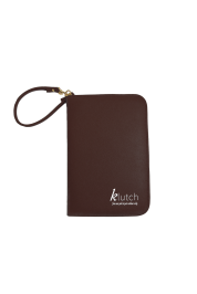 Klutch Travel Folder-Brown