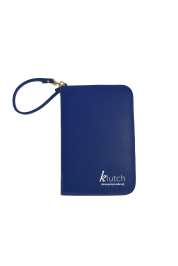 Klutch Travel Folder-Blue