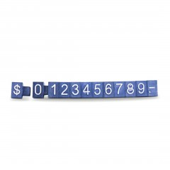 BLACK/BASE WHITE WORDS PRICING SET WITH $ SIGN