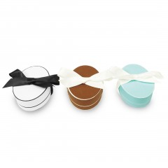 Oval Hat Earring Box