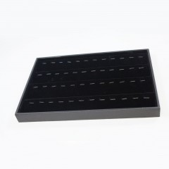 PU/BLACK VELVET NECK/BRACELET TRAY